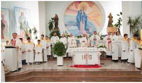 Veliki četvrtak – dan svećenika i sv. mise