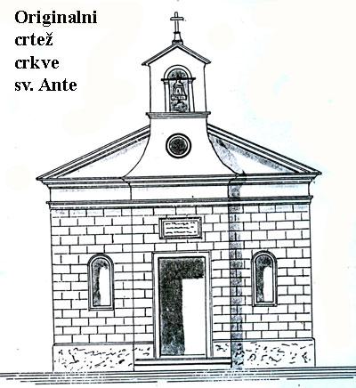 CRKVA SV. ANTE (ŠIMUNA I STJEPANA)