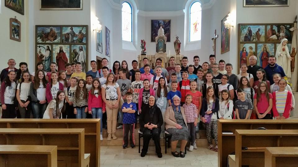 Posjet mladih  Župe Gradina