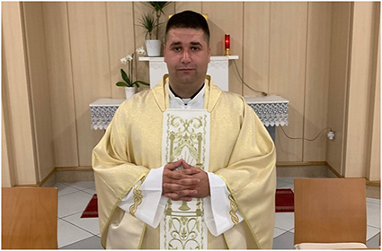 Don Ante Jukić, naš novi kapelan!