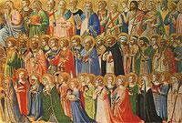 SVI SVETI, raspored svetih. misa: